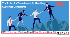 The role of team leader in handling customer complaints