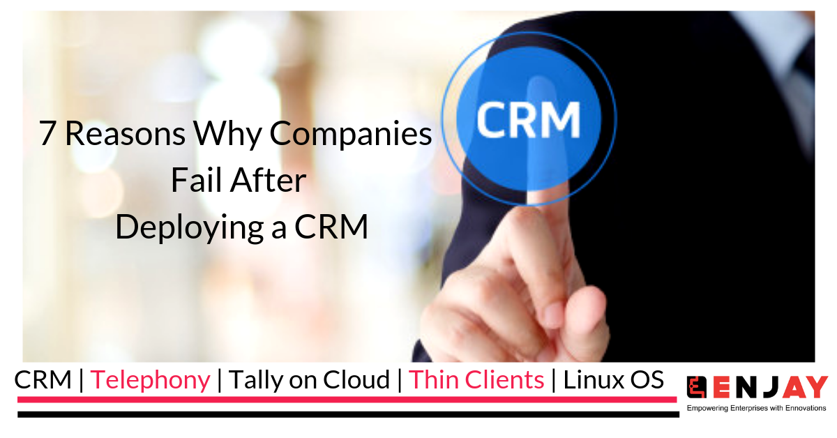 crm failure reasons