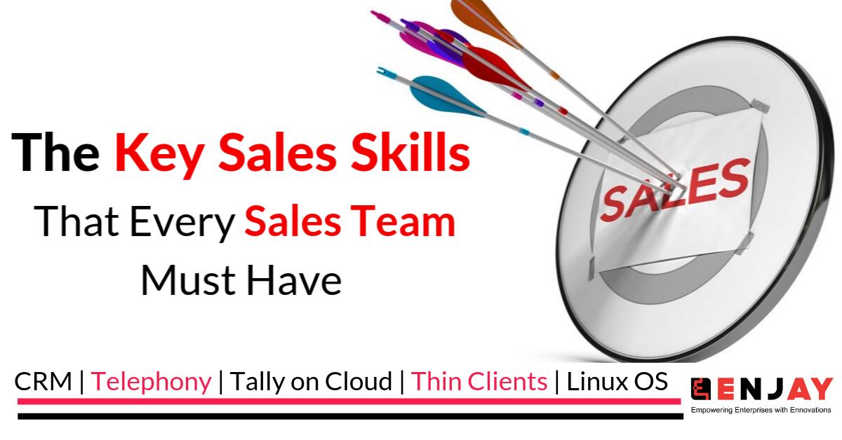 key sales skills