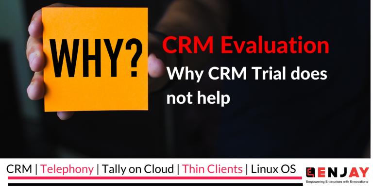 crm evaluation