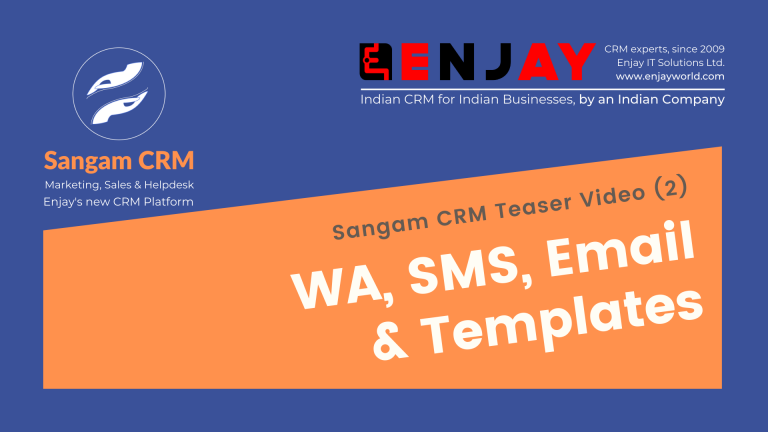 SMS, email and WA CRM
